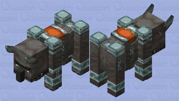 Improved Ravager V1 Minecraft Mob Skin