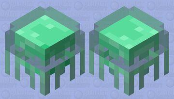 Glow-Jellyfish / the virus that makes animals glow Minecraft Mob Skin