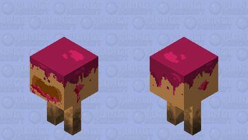 Jelly filled strider Minecraft Mob Skin