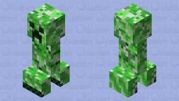 Faithful Jappa Creeper Minecraft Mob Skin
