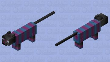 Stripey Cat! -Mystery Mobs- (non HD in description) Minecraft Mob Skin