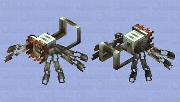 Hellblender Minecraft Mob Skin