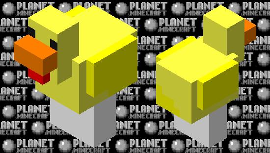 rubber ducky Minecraft Skin