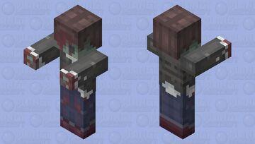 Shitai-san / Mr. Corpse (死体さん) - Yume Nikki Minecraft Mob Skin