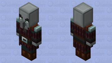 Simplistic Pillager Minecraft Mob Skin