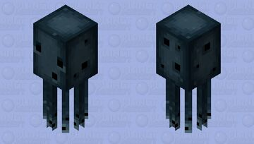 Dead-Squid and no Glowing or iridophores Minecraft Mob Skin