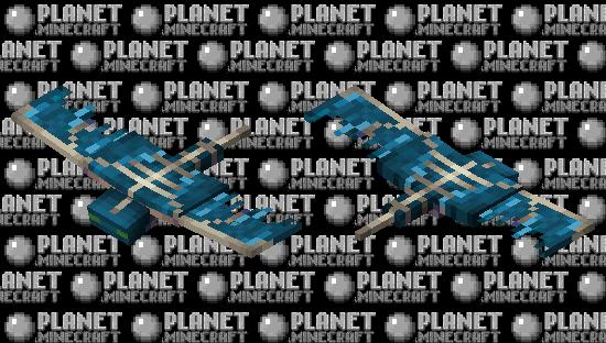 Water Phantom Minecraft Skin