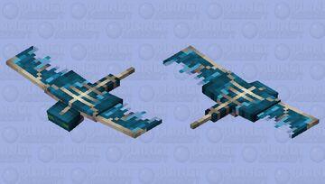 Water Phantom Minecraft Mob Skin