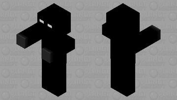 Null (creepypasta) Minecraft Mob Skin