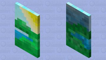 Sunshine after the rain cape (contest entry) Minecraft Mob Skin