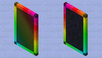 RGB Cape with Elytra Skin Minecraft Mob Skin