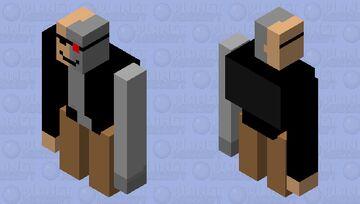 Iron golem terminator Minecraft Mob Skin