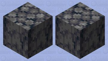 Why this basalt block is in the end city? Minecraft Mob Skin