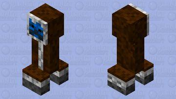 frozenlands: polar creeper Minecraft Mob Skin