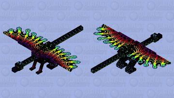 Fairy forest dragon Minecraft Mob Skin