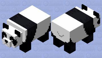 Panda Pixel Minecraft Mob Skin