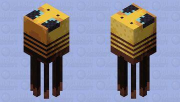 Underwater Bee Minecraft Mob Skin