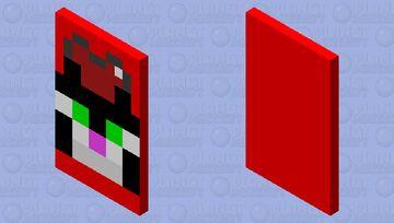 HUNTER CAT CAPE :3 Minecraft Mob Skin