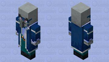 Iceologer/Chillager Remake (Version 1.5 WIP) (Original texture by Xillager) Minecraft Mob Skin