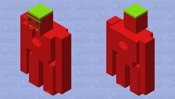 Cherry Golem Minecraft Mob Skin