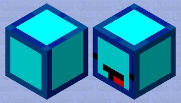 Skeppy magma cube Minecraft Mob Skin