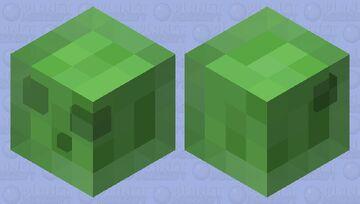 Simple Slime Minecraft Mob Skin