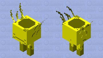 Saddled Golden Strider Minecraft Mob Skin