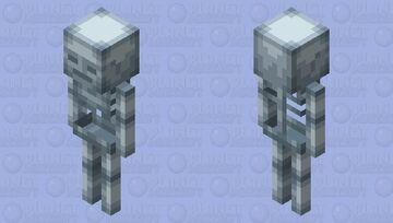 Wolverine | Adamantium Skeleton Minecraft Mob Skin