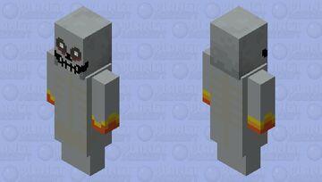 arch vile (doom) {evoker} Minecraft Mob Skin