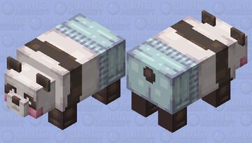 panda in pjs Minecraft Mob Skin