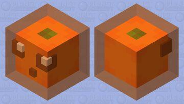 ~+  🍊lemon slime🍊  +~ Minecraft Mob Skin