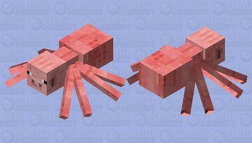 spider pig Minecraft Mob Skin