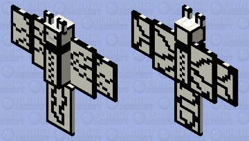 Cartoon bat Minecraft Mob Skin