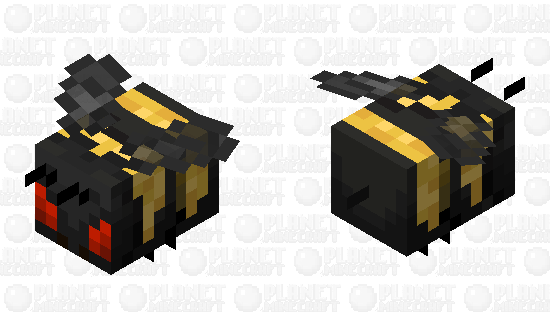 Angry Bumblebee Minecraft Skin