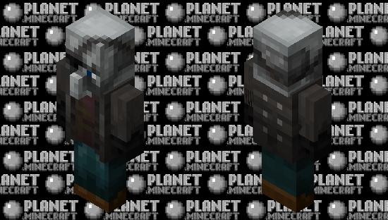 Remastered Vindicator Minecraft Skin