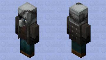 Remastered Vindicator Minecraft Mob Skin