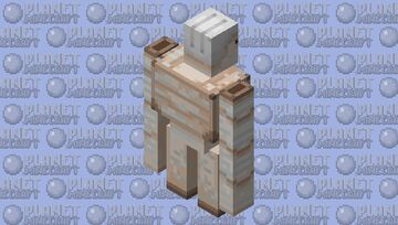 Vineless Iron Golem Minecraft Mob Skin