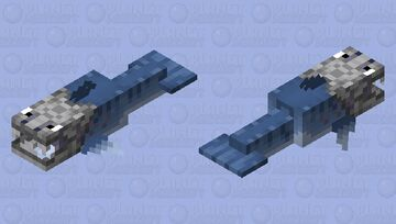 The Prehistoric Dunkleosteus / overworld version Minecraft Mob Skin