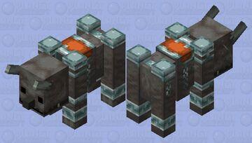 Cute Ravager Minecraft Mob Skin