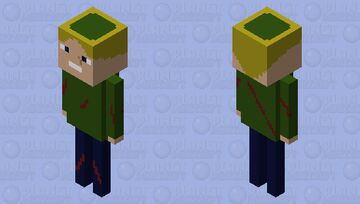 Ben drowned (creepypasta) Minecraft Mob Skin