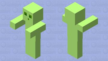 Slimey Slime Minecraft Mob Skin