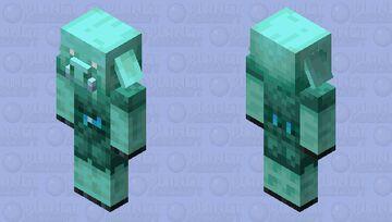 Piglin that likes souls Minecraft Mob Skin