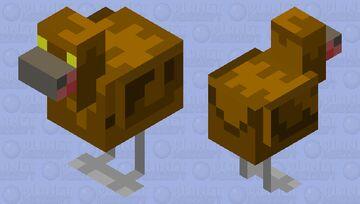 Galloanserae - Prehistoric Chicken (Made for Prehistoric Mob Skin Contest) Minecraft Mob Skin
