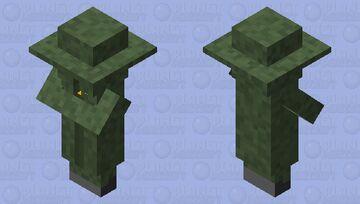 Camo villiger Minecraft Mob Skin