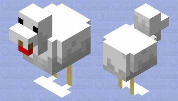 Creamy chicken Minecraft Mob Skin