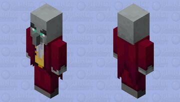 Evoker Guard (Red) Minecraft Mob Skin