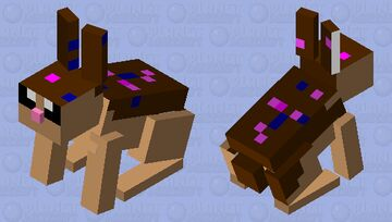 ice cream bunny with sprinkles Minecraft Mob Skin