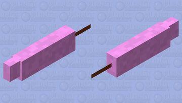 Aquatic cotton candy Minecraft Mob Skin