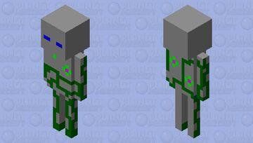 Grassy golem Minecraft Mob Skin