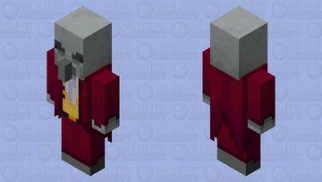 Evoker Guard (Red) (idle) Minecraft Mob Skin